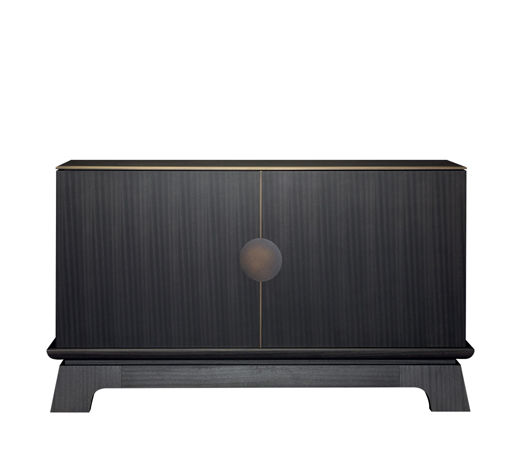 La Belle Aurore is a wooden cabnet with bronze details, from Promemoria's catalogue | Promemoria