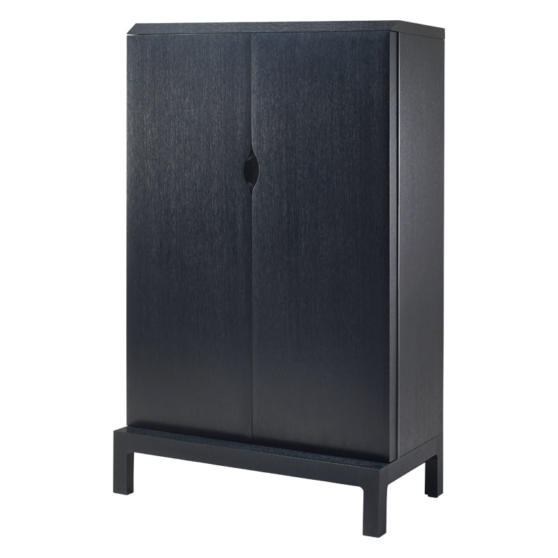Promemoria Laos Wooden Cabinet With Wooden Or Glass Doors