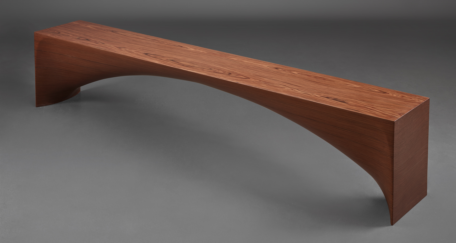 Kumo is a minimalist wooden bench, from Promemoria's Capsule Collection by Bruno Moinard | Promemoria