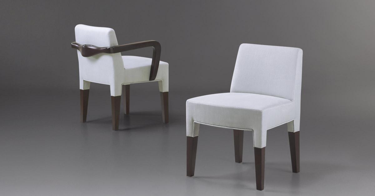 Promemoria Brigitta Short Upholstered Chair