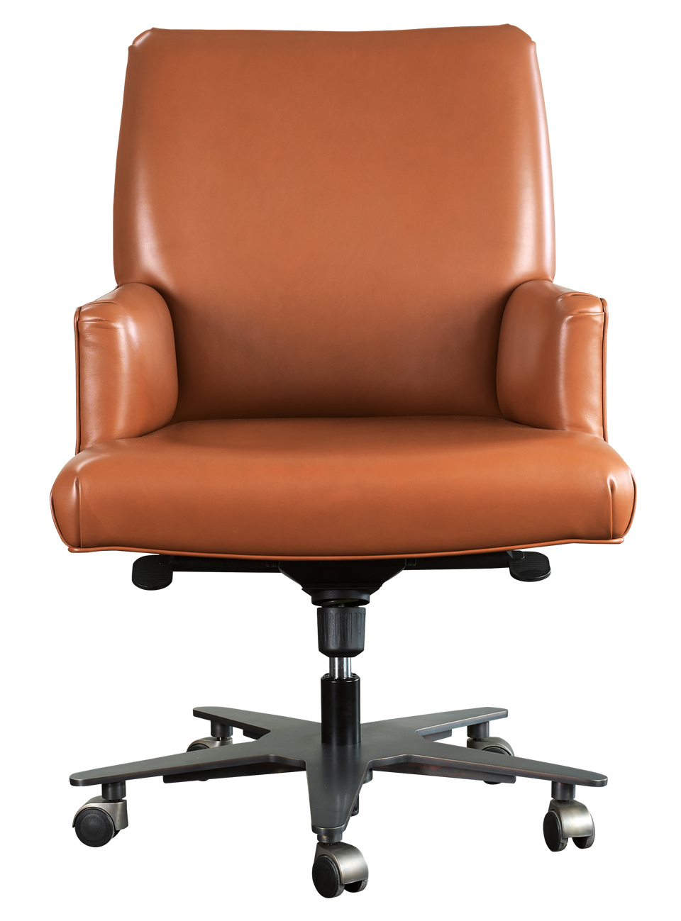 Isotta Is An Office Chair With Or Without Armrests Covered In Fabric Leather From