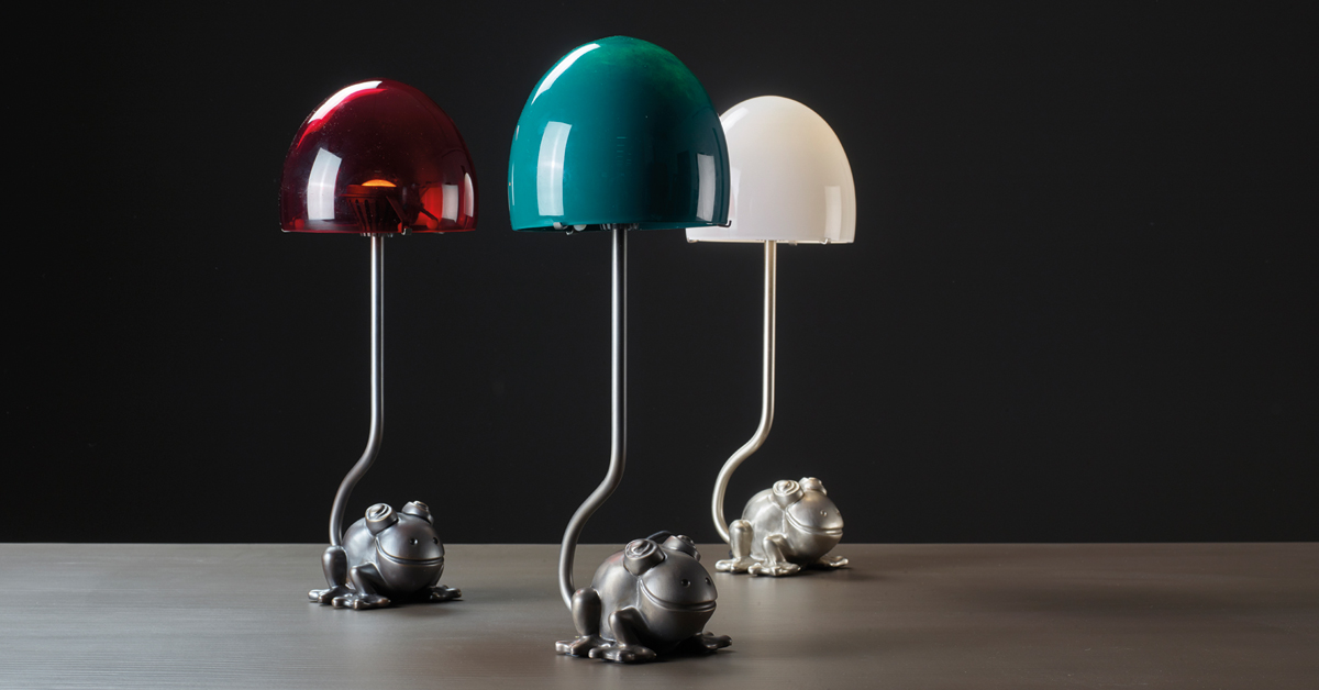 Promemoria Grenouille Led Table And Bedside Table Lamp
