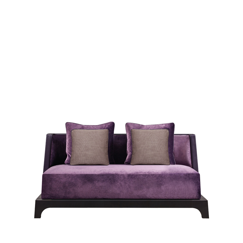 Elegant Eaton Is A Sofa With A Wooden Or Bronze Base Covered In Fabric, From  Promemoriau0027s