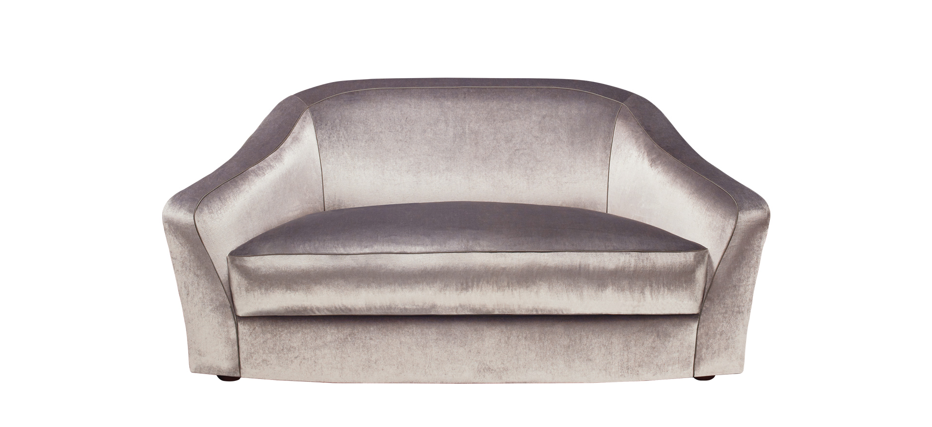 Fiore di Loto is a sofa covered in fabric or leather, from Promemoria's catalogue | Promemoria