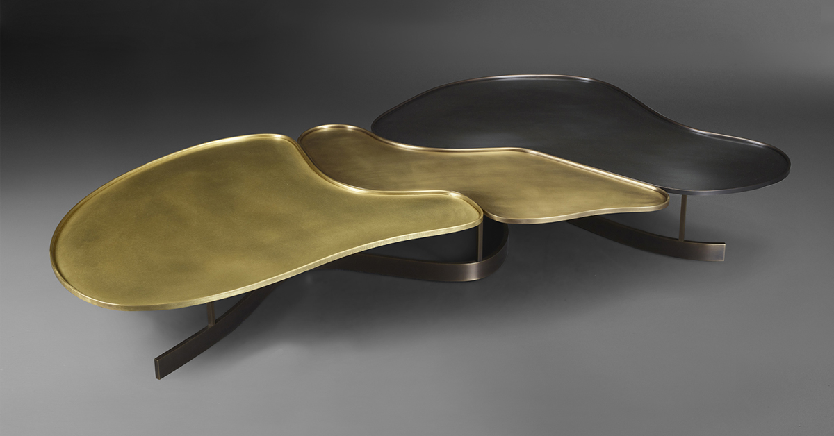 Promemoria Moscou Bronze Coffee Table