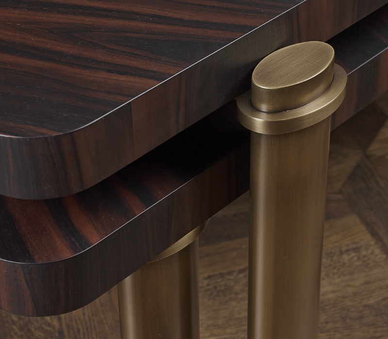 Bronze Coffee Table Australia: Passepartout: Two Wooden Coffee Tables With
