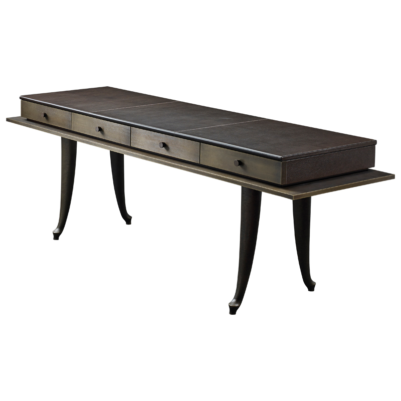 Muu is a bronze console with drawers, from Promemoria's catalogue | Promemoria