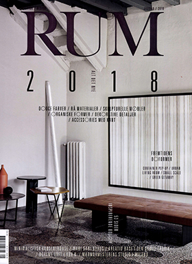 Promemoria's coffee table Lunique featured on Rum 2018 | Promemoria