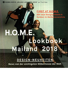 Promemoria's chair Bomb featured on H.O.M.E. - Lookbook Mailand 2018 | Promemoria