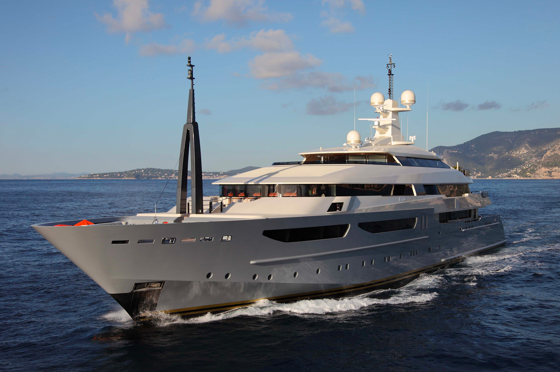 AZTECA Yacht furnished with Promemoria | Promemoria