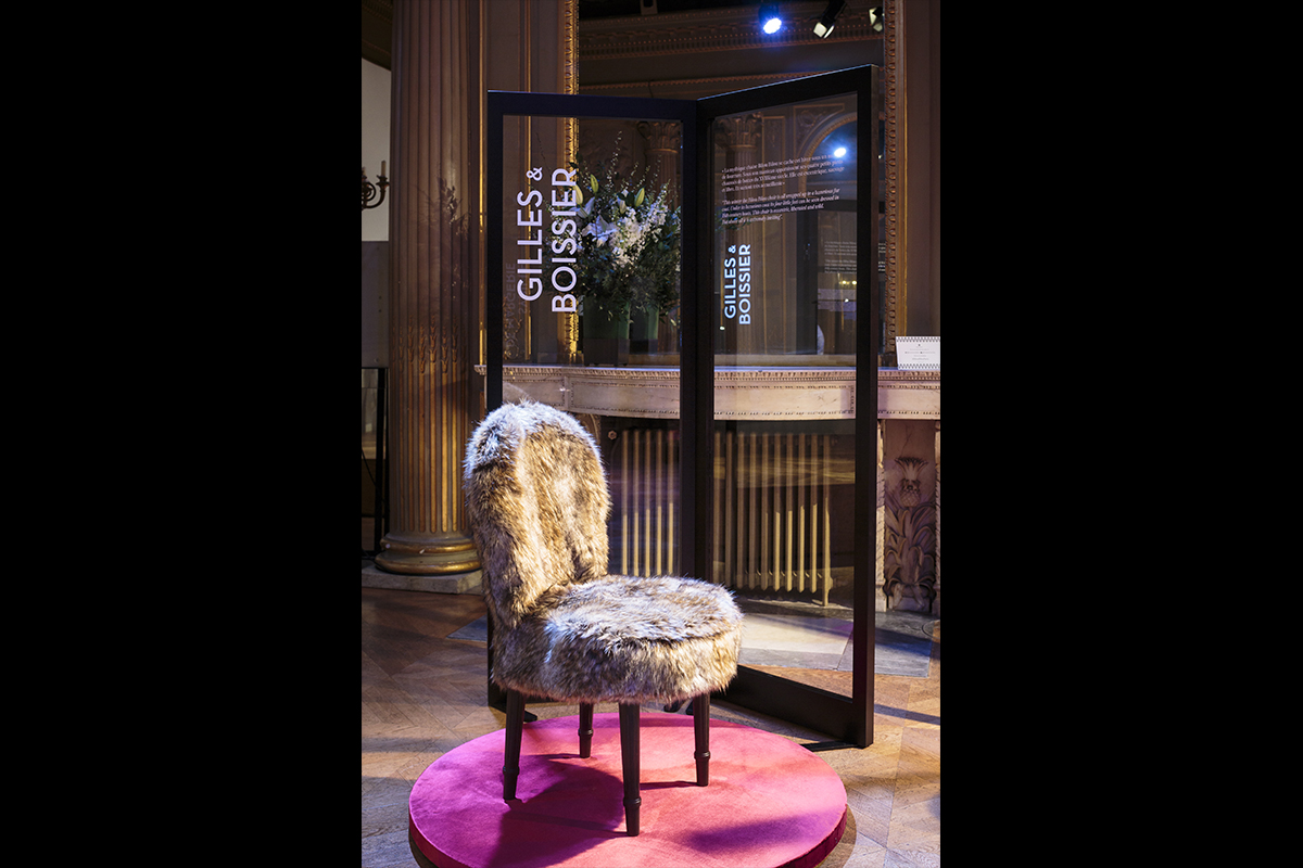 Bilou Bilou: Promemoria presents the iconic chair Bilou Bilou, reinterpreted by eight French architeture firms and designers in the Paris showroom | Promemoria