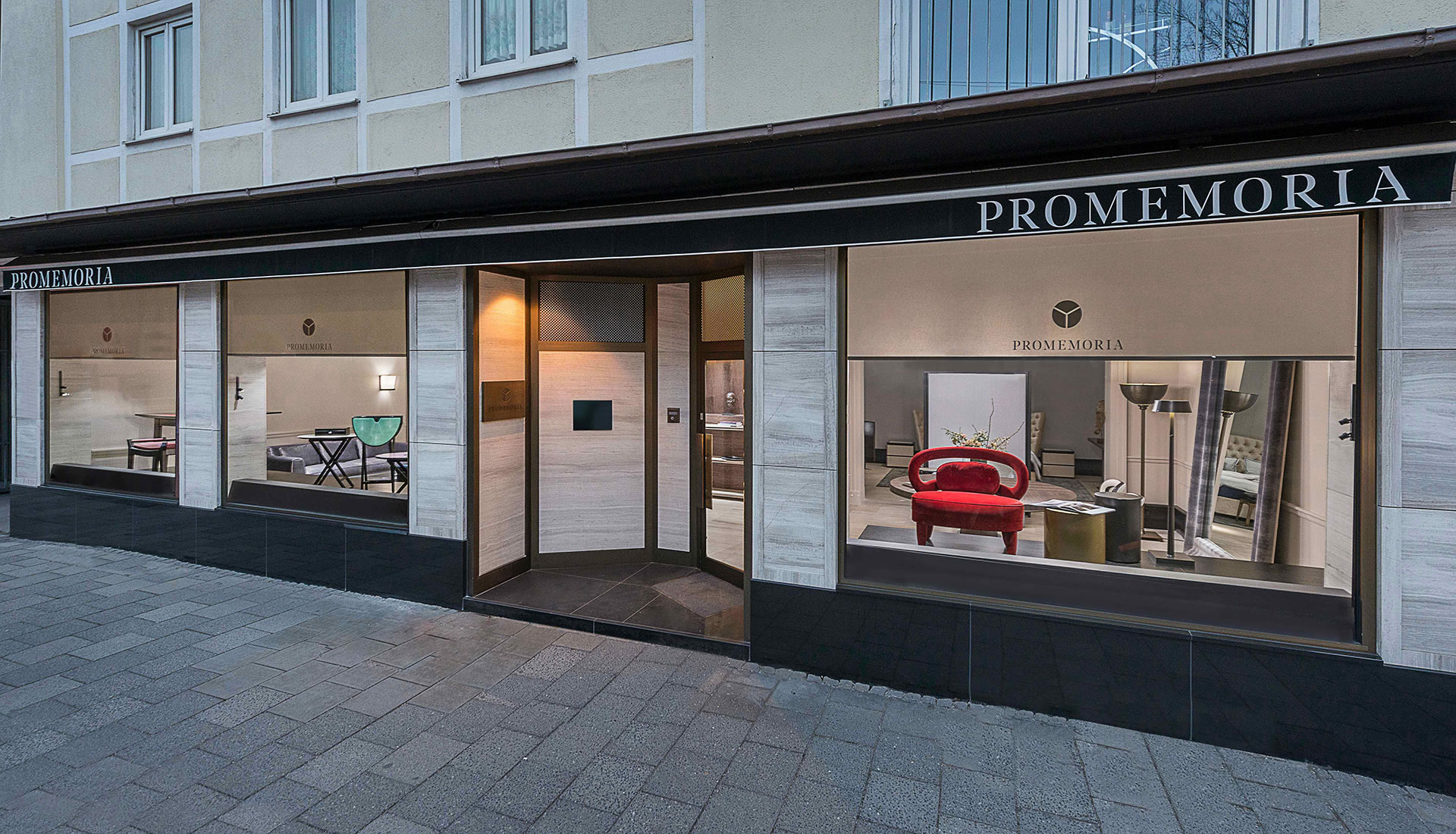 Promemoria's single-brand showroom in Munich | Promemoria