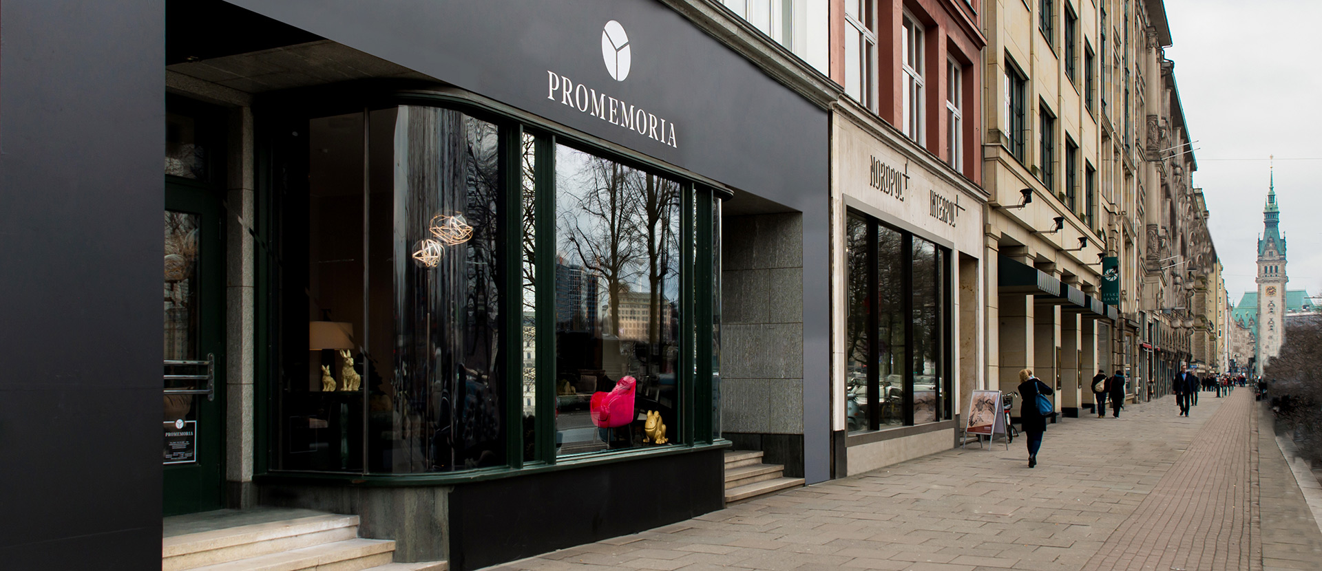 Promemoria's single-brand showroom in Hamburg | Promemoria